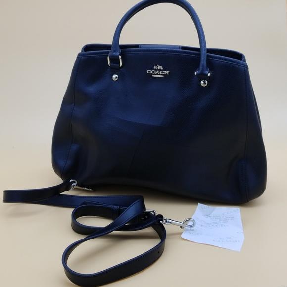 bc9e31eaa4b9 ... coupon greece authentic coach black leather margot satchel ba1a9 2844d  a49b8 90712